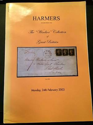 """HARMERS OF LONDON 2003 """"Windsor"""" Classic Great Britain auction catalogue"""