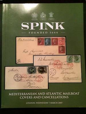 SPINK 2007 Mediterraneau & Atlantic Mailboat covers and cancellations