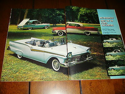 1957 1958 1959 Ford Skyliners  ***original Article***