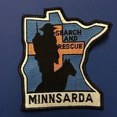 Minnsarda Search And Rescue   Shoulder Patch