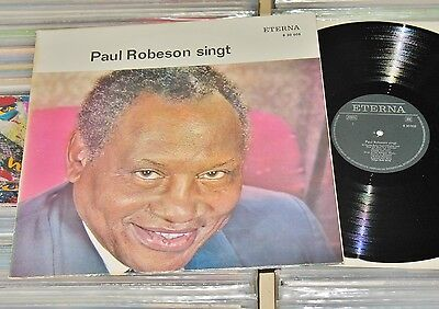 Paul Robeson - LP (VG+) Volga Boat Song/Ol' Man River/Song Of The Warsaw Ghetto