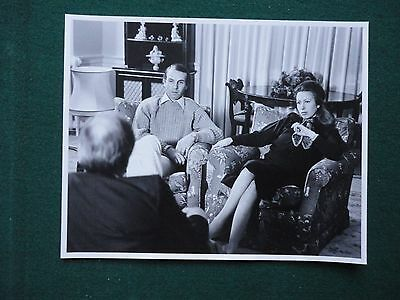 Antique Press Photo of Princess Anne & Captain Mark Philips Being Interviewed