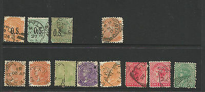 South Australia used stamps dealer used stock run out, unchecked by me