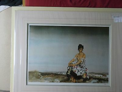 SIR WILLIAM RUSSELL FLINT limited edition print/ MADEMOISELLE SOPHIE ..