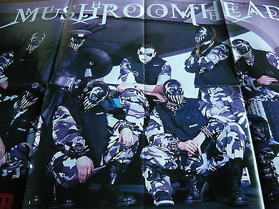 Mushroomhead - Huge Magazine Fold-Out Poster (Ref Z)