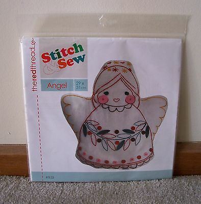 Christmas Stitch & Sew Angel Kit ~ New In Packet