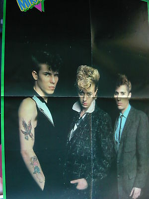 Stray Cats - Huge Magazine Fold-Out Poster (Ref Z)