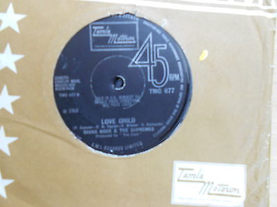 Diana Ross & The Supremes=Love Child  Vg+