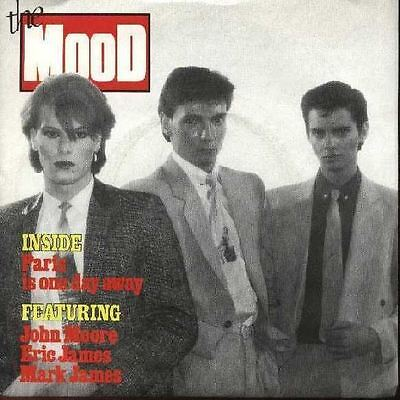 "THE MOOD 1982 UK 7"" Single PARIS IS ONE DAY AWAY DiscNEW"