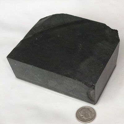 Black Steatite Carving Stone, for Peace Pipe & Crafts NV2-2