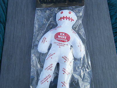 Ex Wife  - Voodoo Doll + Pins - Adult Novelty Gift -  Free Postage Uk
