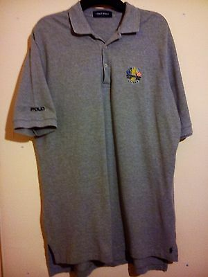 Ralph Lauren Polo Shirt Golf Ryder Cup 1927 2010 Celtic Manor Size L Large Vgc