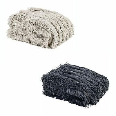 Chateau Faux Fur Long Haired Bed Lounge Sofa Throw Runner Rug by Paxton & Wiggin