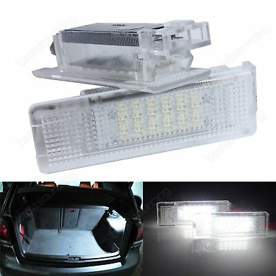 2 VW Beetle Caddy Eos Golf Passat CC Scirocco Transporter LED Luggage Boot Light