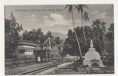 Ceylon, The Temple of The Holy Tooth, Kandy Postcard #2, B239