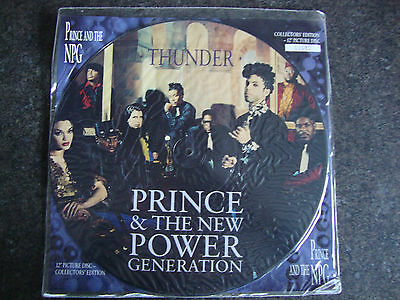 """Prince 12"""" Vinyl Numbered Collectors Edition Picture Disc - Thunder (11081)"""