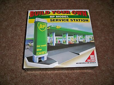 Build Your Own BP Model Service Station Sealed Unopened No Glue Needed New
