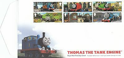 GB First Day Cover Envelope - Thomas The Tank Engine & Mint Stamp Sheet + Insert