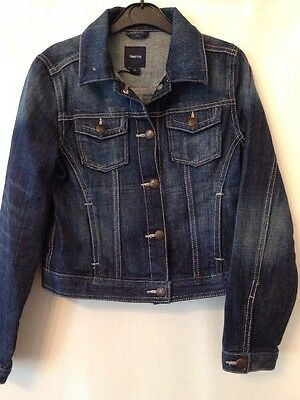 Used Girls Size Large Denim Button Up Jacket From Gap