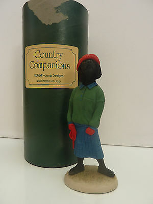 Robert Harrop - Doggie People / Country Companions - Poodle (Black) French Lady