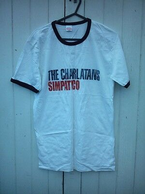 Official The Charlatans-Simpatico T-Shirt S/mans