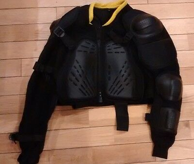 motorcycle  upper  BODY ARMOUR Jacket    size L       free post