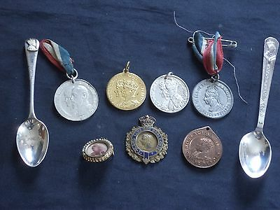 1887-1953 Small Collection of ROYALTY Commemorative Items  All Reigns Included