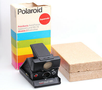 Polaroid SX-70 Land Camera PolaSonic AutoFocus Model 2 (44)