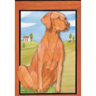 Garden Indoor/Outdoor Pipsqueak Flag - Vizsla 498811