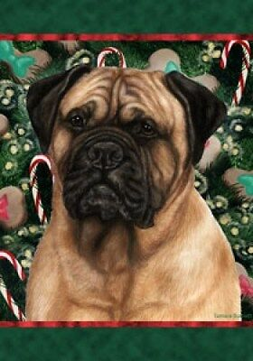 Large Indoor/Outdoor Holiday Flag - Bullmastiff 14050
