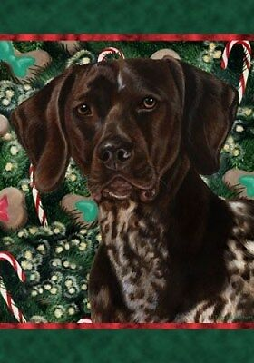 Large Indoor/Outdoor Holiday Flag - German Shorthaired Pointer 14049