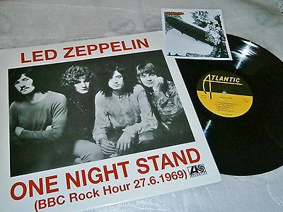 LED ZEPPELIN -  One night stand + Card foto  RARE  Atlantic MINT
