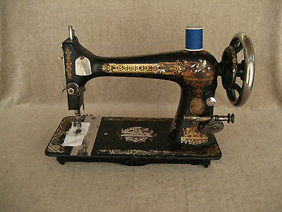 Antique 1898 Singer Treadle Sewing Machine 15443148 Working Condition Sphinx