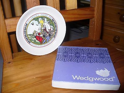 RAPUNZEL  Children's Story 1980 Brothers Grimm Wedgwood Plate