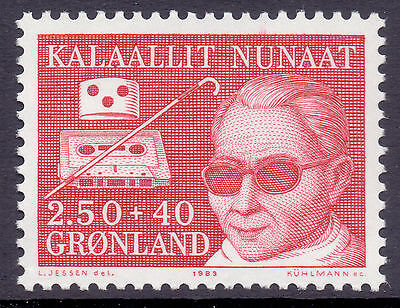 GREENLAND 1983 stamp Disabled Persons um (NH) mint