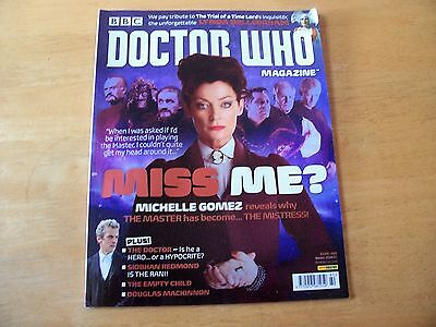 Doctor Who Magazine  Issue 480 : Winter 2014/15