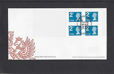 GB 2016  Machin Definitive 4x2ndLL stamp M16L MFIL booklet new font FDC Windsor