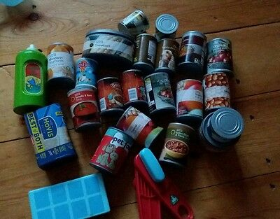 toy tinned play food