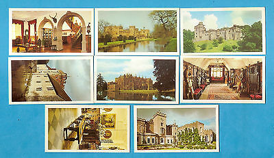 SET OF DONCELLA COUNTRY HOUSES AND CASTLES & P/SET OF 12 V.C...all scanned