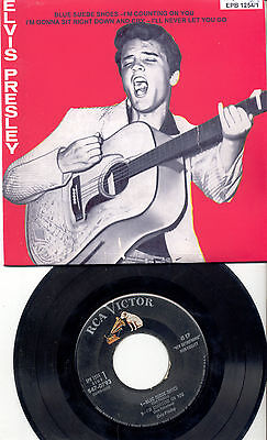 Elvis Presley U.s.a. 50's Ep  In New Glossy Cover