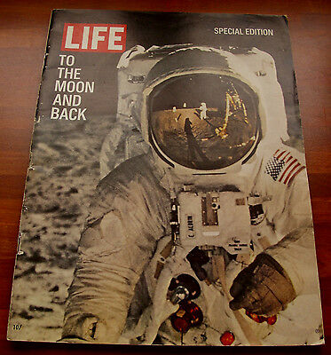 Life Magazine Apollo 11 Moon Landing Supplement - To The Moon And Back - 1969