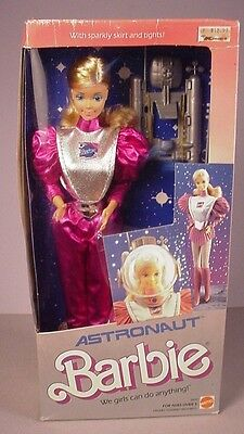 1985 Astronaut Barbie Doll #2449 MIB NRFB  factory sealed  new in box