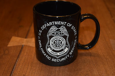 DSS Etched Diplomatic Security Special Agent Coffee Mug