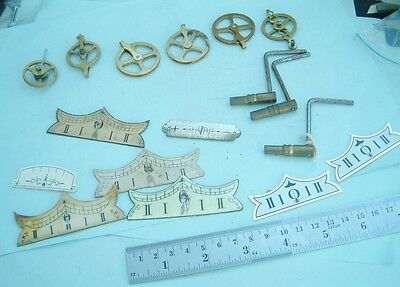 Clock makers Vienna Clock Pulleys keys & other Vienna clock parts clock repairer