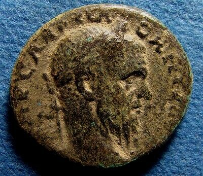 Ancient PHOENICIA, Tyre. Macrinus. AD 217-218. Æ 25mm Bronze City coin with Bull