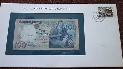 Portugal P-178a 100 Escudos 1980 Unc Banknotes of All Nations