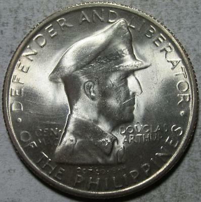 Philippines, Peso, 1947S, Brilliant Uncirculated, MacArthur, .5787 Ounce Silver