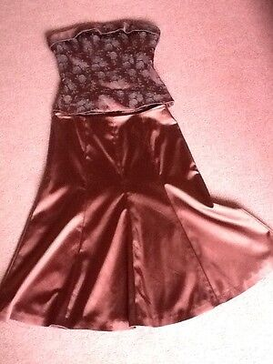 Coast Dress (Skirt And Top) Size 10