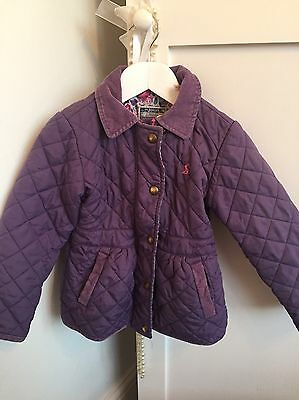 Girls Designer Joules Jacket Age 3