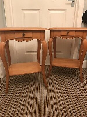 2 Cute Lamp Tables Or Bedside Tables Need TLC